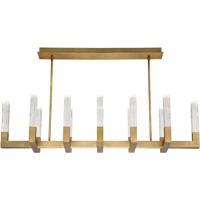 Modern Forms PD-30854-AB Cinema LED 54 inch Aged Brass Multi-Light Pendant Ceiling Light