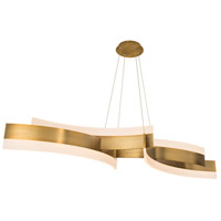Modern Forms Aged Brass Aluminum Chandeliers