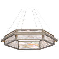 Modern Forms PD-39935-AN Atlantis LED 30 inch Antique Nickel Chandelier Ceiling Light