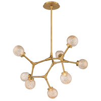 Modern Forms PD-53728-AB Catalyst LED 28 inch Aged Brass Chandelier Ceiling Light in 28in.