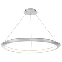 Modern Forms PD-55036-35-AL The Ring LED 36 inch Brushed Aluminum Chandelier Ceiling Light