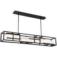 Modern Forms PD-56856-BK Memory LED 56 inch Black Linear Pendant Ceiling Light