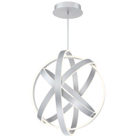 Kinetic LED 28 inch Titanium Pendant Ceiling Light