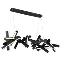 Modern Forms PD-64872-BK Chaos LED 72 inch Black Chandelier Ceiling Light