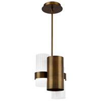 Modern Forms PD-71011-AB Harmony LED 11 inch Aged Brass Pendant Ceiling Light