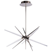 Modern Forms PD-92950-PN Stormy LED 48 inch Polished Nickel Pendant Ceiling Light in 3500K