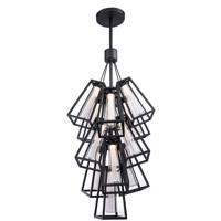 Modern Forms PD-W17913-BK Avant Garde LED 31 inch Black Outdoor Pendant in 13