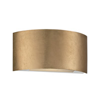 Vermeil LED 11 inch Gold Leaf ADA Wall Sconce Wall Light