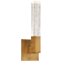 Modern Forms WS-30815-AB Cinema LED 6 inch Aged Brass ADA Wall Sconce Wall Light in 15in.