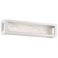 Modern Forms WS-39920-BN Shock Waves LED 20 inch Brushed Nickel Vanity Light Wall Light in 20in.