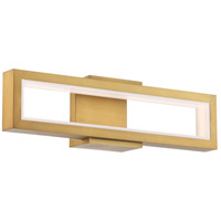 Modern Forms WS-50820-AB Mies LED 4 inch Aged Brass ADA Wall Sconce Wall Light