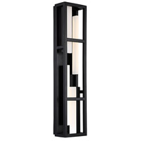 Modern Forms WS-56827-BK Memory LED 6 inch Black ADA Wall Sconce Wall Light in 27in.