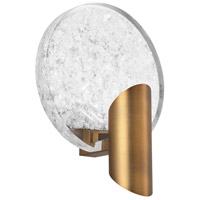 Modern Forms WS-69009-AB Oracle LED 4 inch Aged Brass Wall Sconce Wall Light
