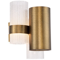 Modern Forms WS-71014-AB Harmony LED 11 inch Aged Brass Wall Sconce Wall Light