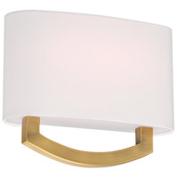 Modern Forms WS-81910-AB Arch 1 Light 4 inch Aged Brass ADA Wall Sconce Wall Light