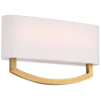 Modern Forms WS-81916-AB Arch 1 Light 4 inch Aged Brass ADA Wall Sconce Wall Light