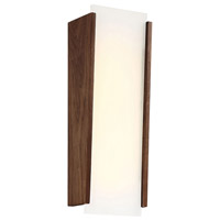 Elysia LED 17 inch Dark Walnut ADA Wall Sconce Wall Light