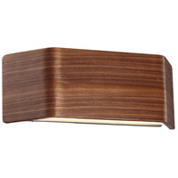 Modern Forms WS-97614-DW Asgard LED 14 inch Dark Walnut ADA Wall Sconce Wall Light photo thumbnail