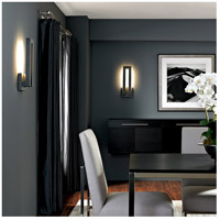 Modern Forms Forq LED Outdoor Wall Light in Graphite WS-W1718-GH alternative photo thumbnail