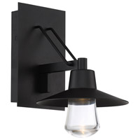 Modern Forms WS-W1911-BK Suspense 1 Light 11 inch Black Outdoor Wall Light