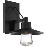 Modern Forms WS-W1915-BK Suspense 1 Light 15 inch Black Outdoor Wall Light