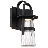 Modern Forms WS-W28514-BK Balthus 1 Light 14 inch Black Outdoor Wall Light