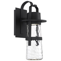 Modern Forms WS-W28521-BK Balthus 1 Light 21 inch Black Outdoor Wall Light