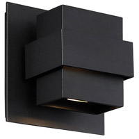 Modern Forms WS-W30507-BK Pandora LED 7 inch Black Outdoor Wall Light