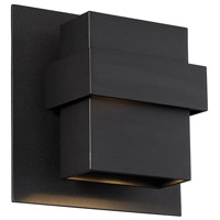 Modern Forms WS-W30509-BK Pandora LED 9 inch Black Outdoor Wall Light