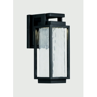 Modern Forms WS-W41912-BK Two If By Sea 12 inch Black Outdoor Wall Sconce