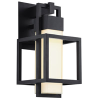 Modern Forms WS-W48816-BK Logic LED 16 inch Black Outdoor Wall Light