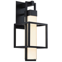 Modern Forms WS-W48823-BK Logic LED 23 inch Black Outdoor Wall Light