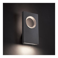 Modern Forms Void LED Outdoor Wall Light in White WS-W5116-WT