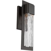 Modern Forms WS-W54016-BZ Mist LED 16 inch Bronze Outdoor Wall Light