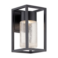 Modern Forms WS-W5411-BK Structure LED 11 inch Black Outdoor Wall Light in 11in.