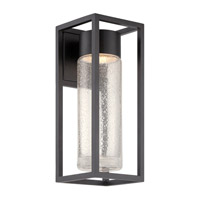 Modern Forms WS-W5416-BK Structure LED 16 inch Black Outdoor Wall Light photo thumbnail