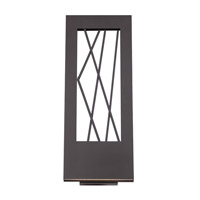 Modern Forms WS-W5521-BZ Twilight LED 21 inch Bronze Outdoor Wall Light in 21in.