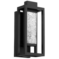 Modern Forms WS-W56014-BK Lanterna LED 14 inch Black Outdoor Wall Light