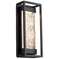 Modern Forms WS-W58012-BK Elyse LED 12 inch Black Outdoor Wall Light