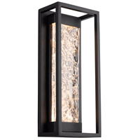 Modern Forms WS-W58017-BK Elyse LED 17 inch Black Outdoor Wall Light