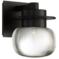 Modern Forms WS-W66808-BK Zenith LED 8 inch Black Outdoor Wall Light