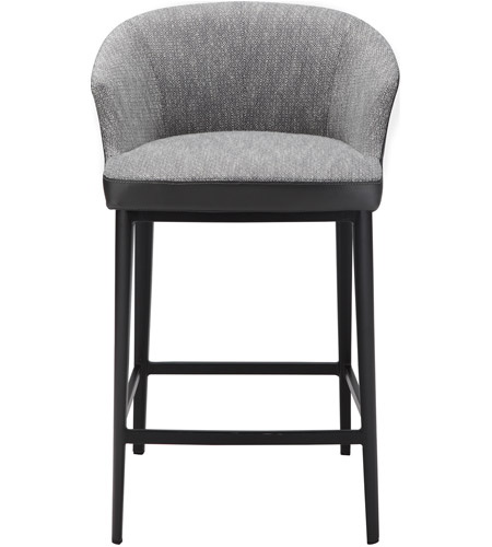 Remarkable Moes Home Collection Ej 1028 15 Beckett 34 Inch Grey Counter Stool Andrewgaddart Wooden Chair Designs For Living Room Andrewgaddartcom
