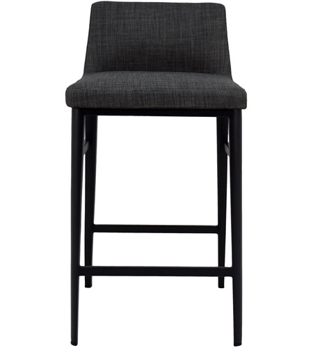 Enjoyable Moes Home Collection Ej 1031 07 Baron 34 Inch Charcoal Counter Stool Andrewgaddart Wooden Chair Designs For Living Room Andrewgaddartcom