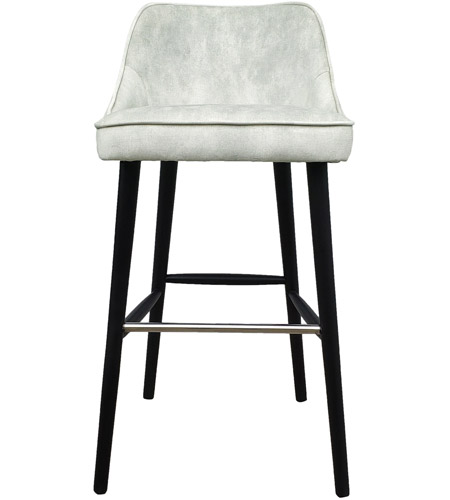 Brilliant Moes Home Collection Fn 1041 05 Harmony 39 Inch White Smoke Bar Stool Machost Co Dining Chair Design Ideas Machostcouk