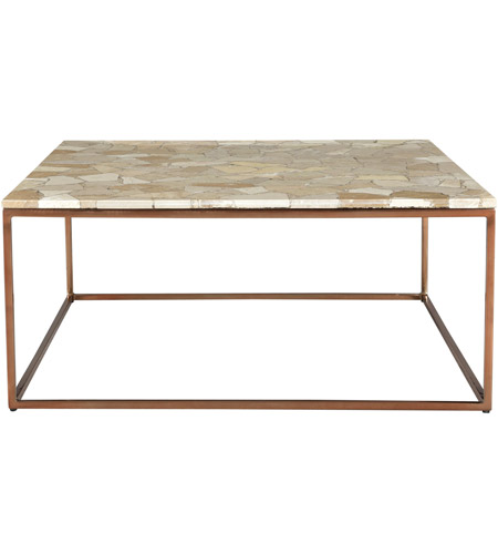 Moe's Home Collection GZ-1018-24 Moxie 35 X 35 inch Natural Coffee Table photo