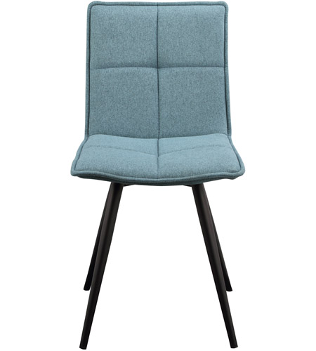 Moe S Home Collection Hk 1011 26 Jojo Tiffany Blue Dining Chair Set Of 2