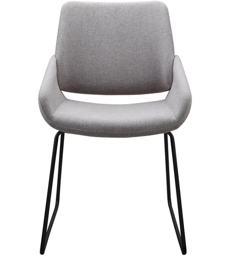 Moe S Home Collection Hk 1014 29 Lisboa Grey Dining Chair