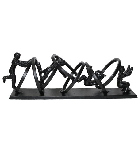 Moe's Home Collection MK-1050-02 Acrobats Black Tabletop Decor photo
