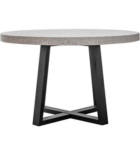 Moe's Home Collection VH-1002-18 Vault 47 X 47 inch White Dining Table photo