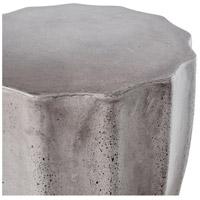 Lucius 18 inch Dark Grey Outdoor Stool